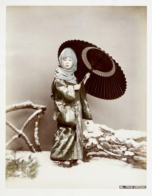Snow attire, oldJapan