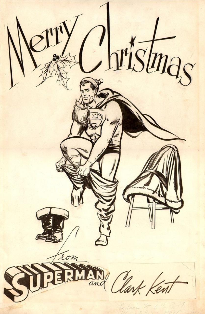 Merry Christmas from Superman/ClarkKent/Santa