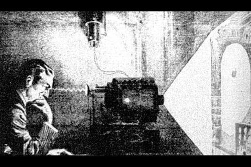 tesla mind projector