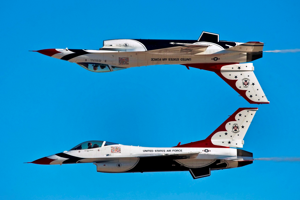 US Air Force Stunt Pilots
