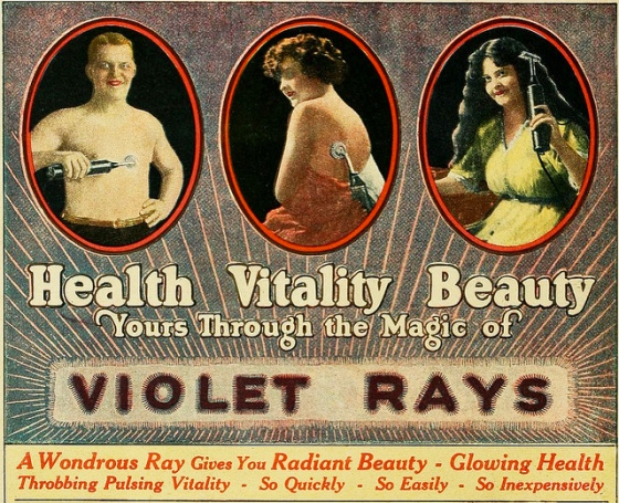 violet rays 401