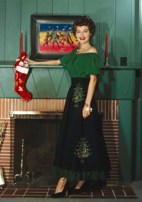 Merry Christmas from (an older) Ava Gardner