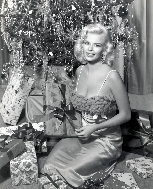 Merry Christmas from Jayne Mansfield