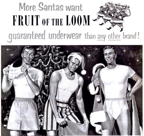 More Santas Want Fruit of the Loom