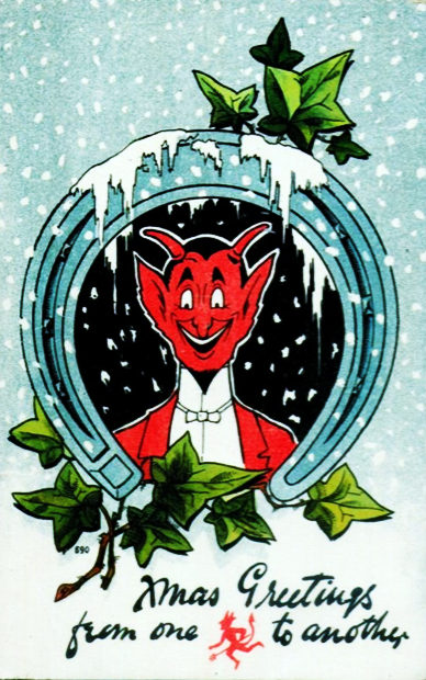 Xmas Greetings from one devil to another