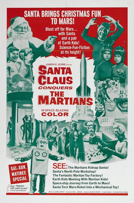 Santa Conquers theMartians