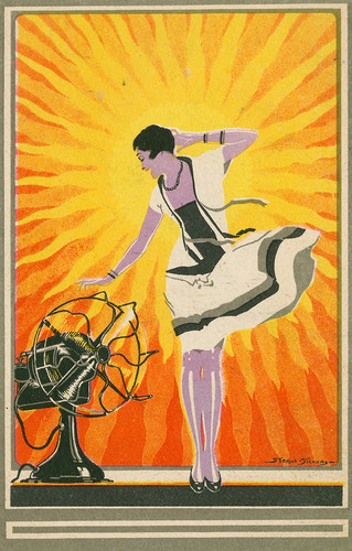 1920s Electric fan ad