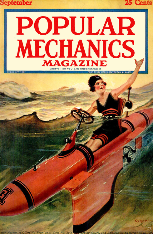1930s Popular Mechanics – like the first jet ski?