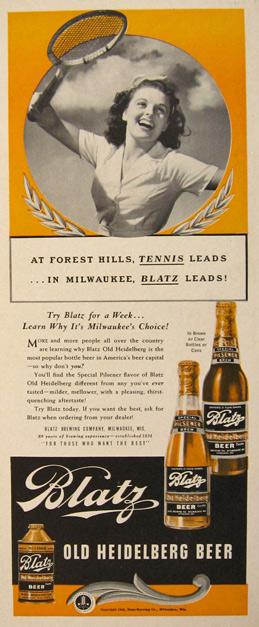 Blatz leads!