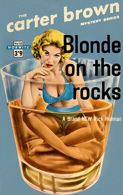 Blonde on theRocks