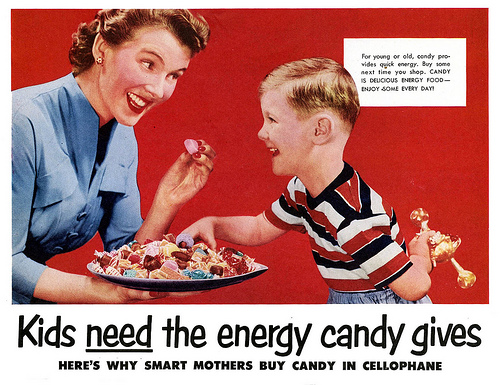 Kids NEED the energy candy gives