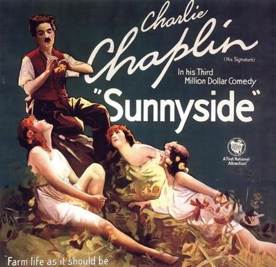 "Charlie Chaplin – ""Farm life as it shouldbe"""