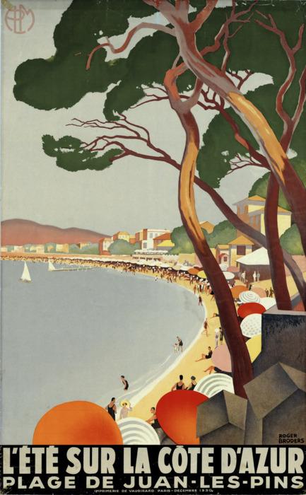 L'Ete sur la Cote D'Azur –1930s