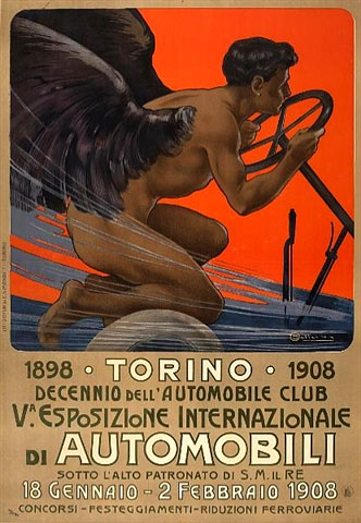 1908 Italian Auto Show –Torino
