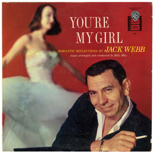 "Romantic reflections by Jack Webb (who starred as a police officer in the TV show ""Dragnet"")"