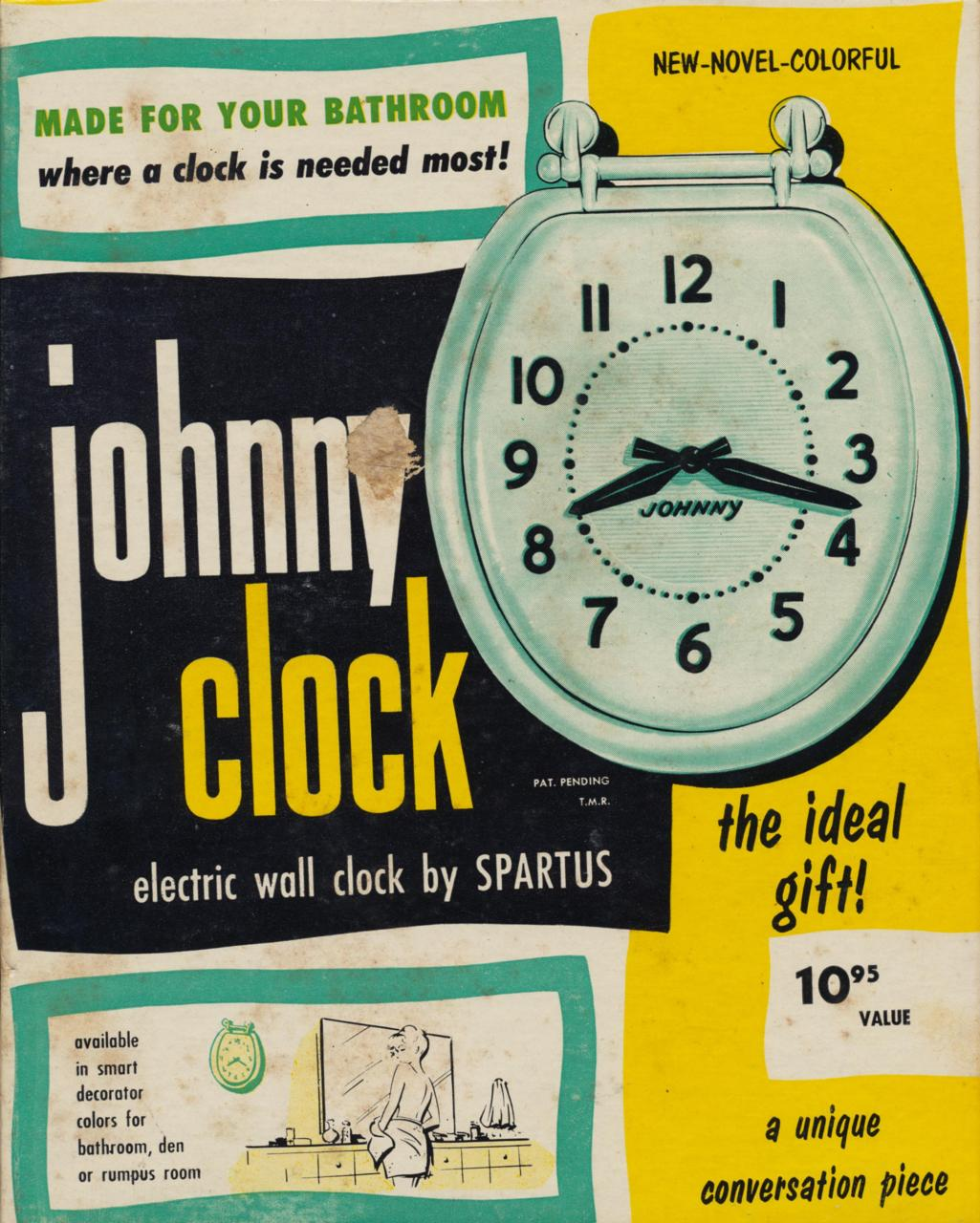 Toilet Clock – the ideal gift