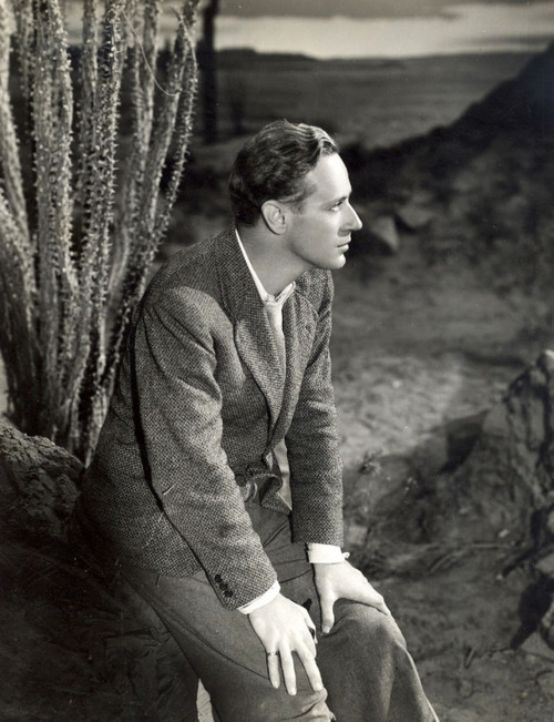 "Leslie Howard in ""The Painted Desert"""