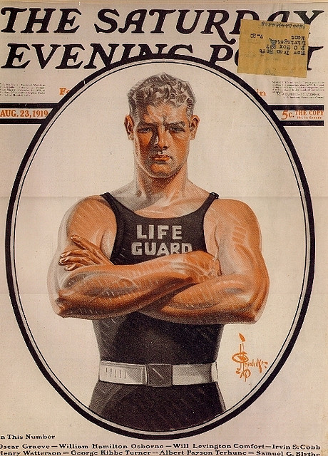 Leyendecker on Saturday Evening Post cover, 1919