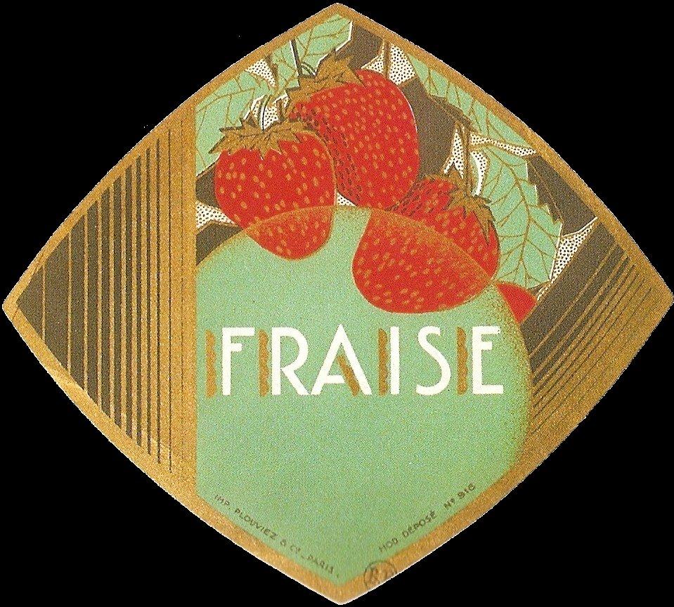 Fraise (Strawberry Liqueur)