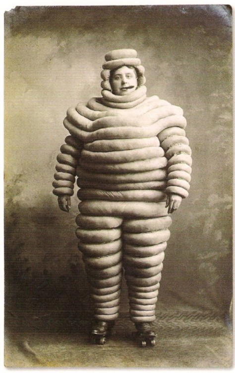 Early Michelin Man?