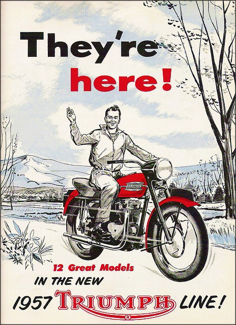 1957 Triumph – They're here!
