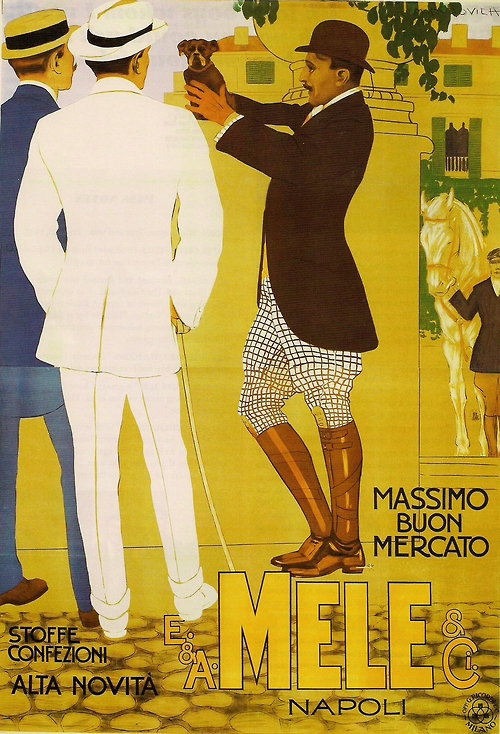 Old poster from Napoli