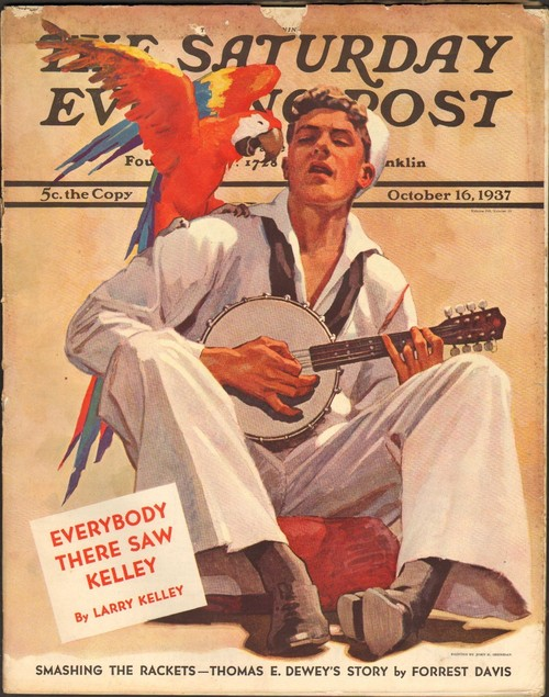 Sailor, parrot, and banjo (1937)
