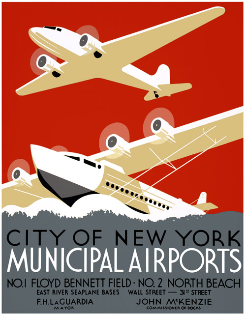 New York City Airports, 1930s