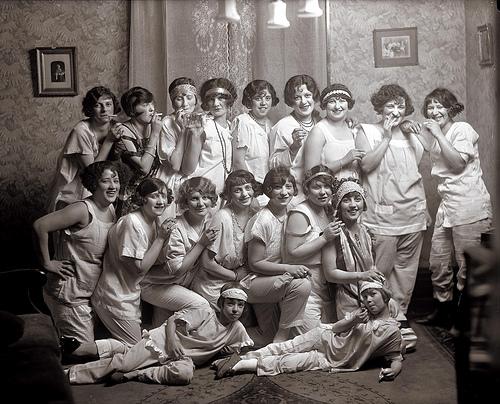 Slumber Party, 1924