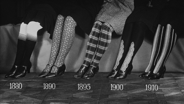Lady's Leggings Through the Years