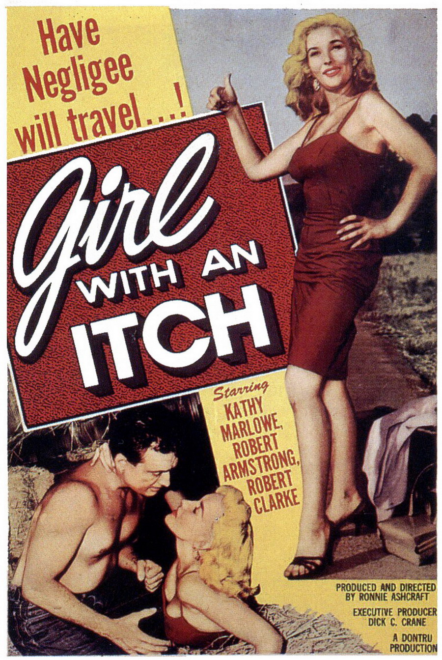 Girl with anitch