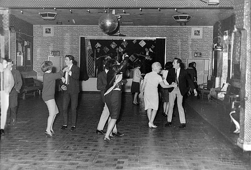 Here's a little inspiration for any of you embarking on a new endeavour and having doubts about it… This is a photo of the Beatles first concert inLondon