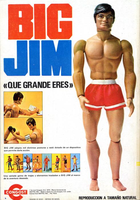 Big Jim doll