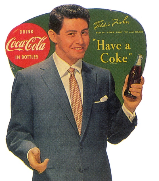COKE EDDIE FISHER