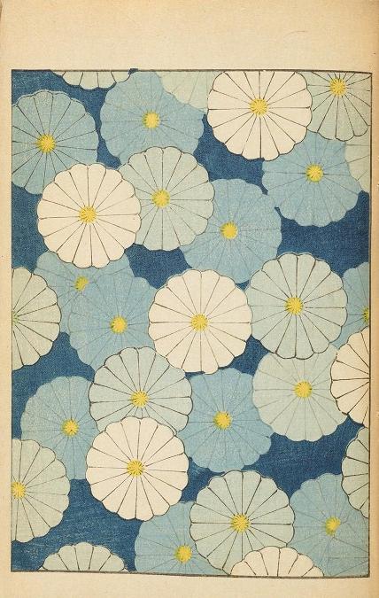 Blue Flowers, Japanese