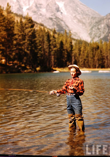 Fly Fishing, Late 1940s