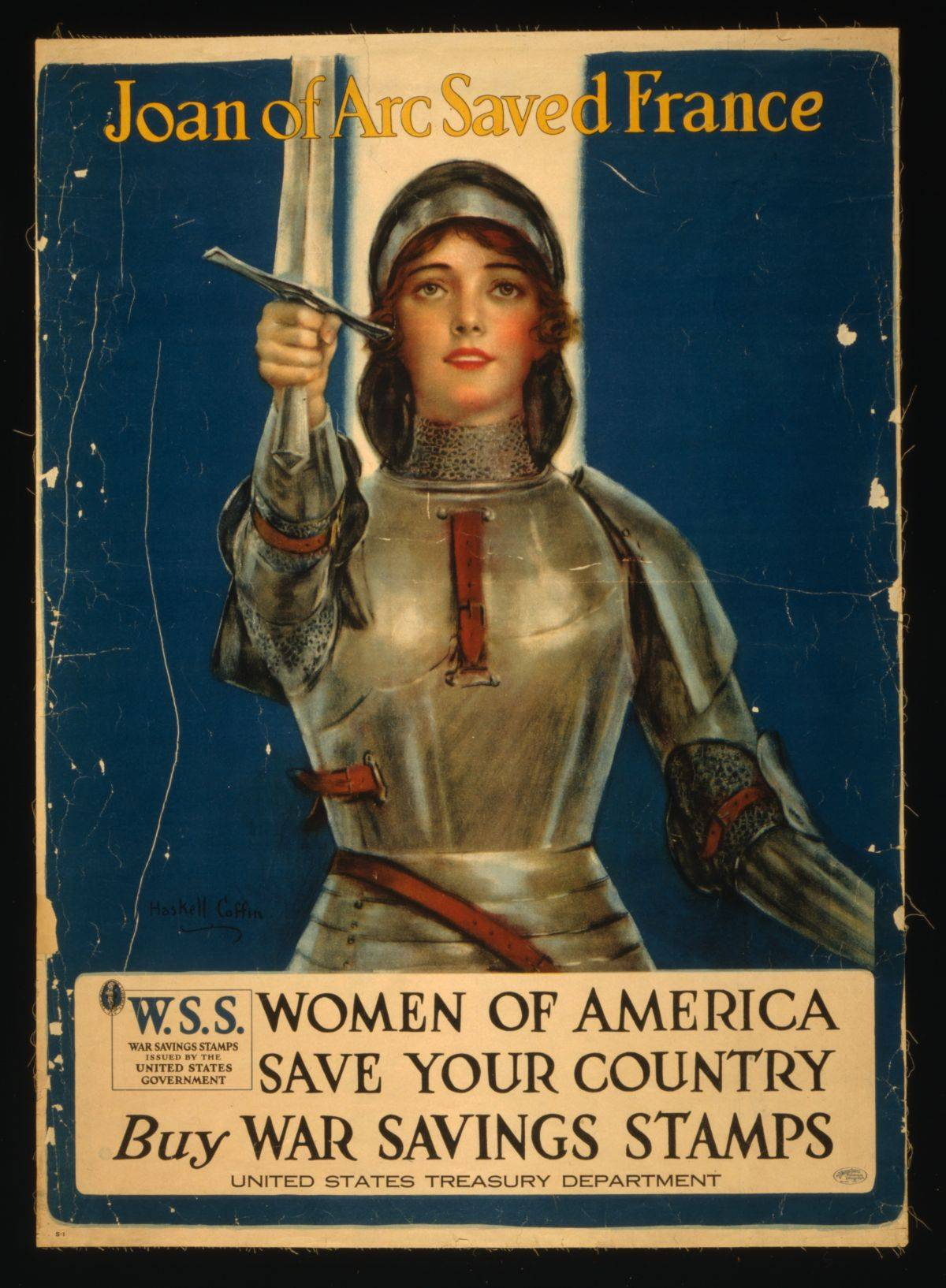 World War I American Public Service Message