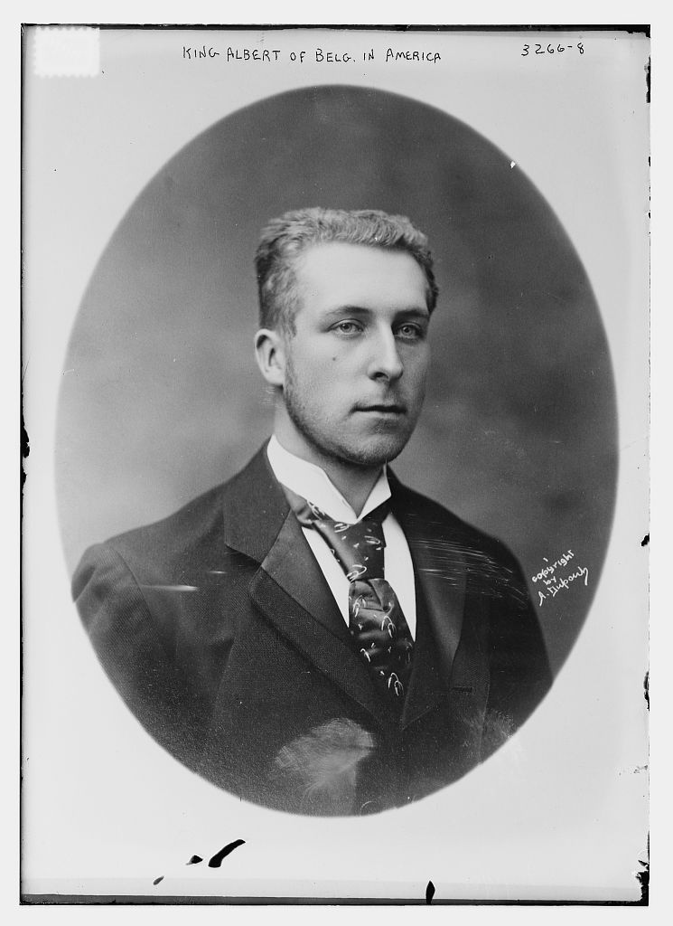King Albert of Belgium, circa 1900, looking surprisingly like a 21st centuryhipster