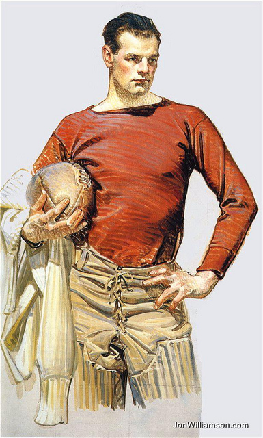 LEYENDECKER FOOTBALL