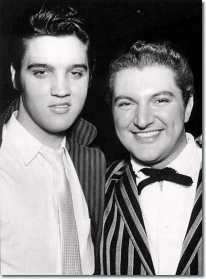 Elvis and Liberace,1956
