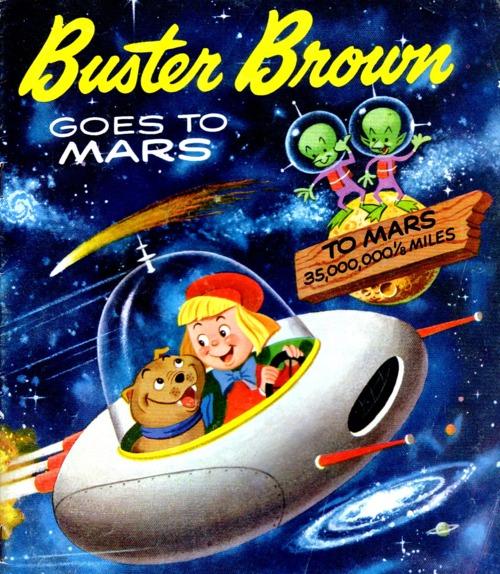 Buster Brown Goes toMars