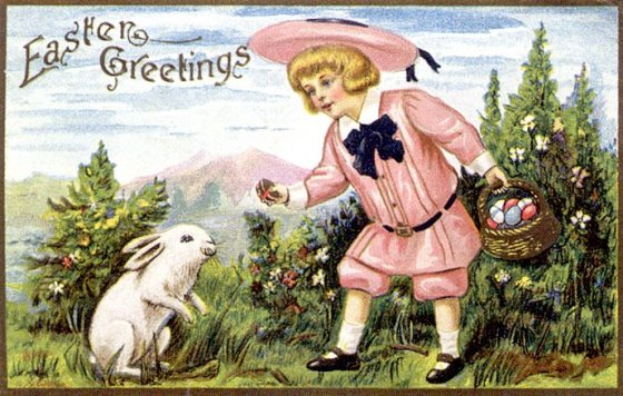 old easter cards 502