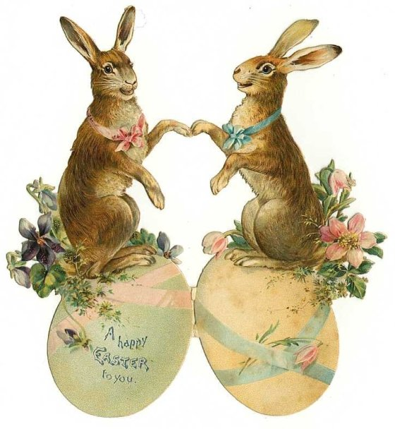 old easter cards 503