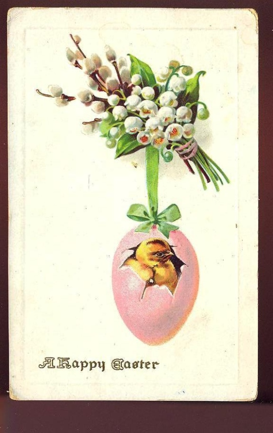 old easter cards 504