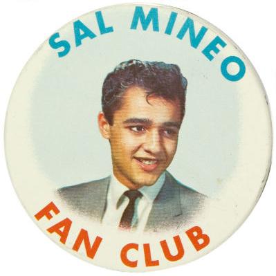 Sal Mineo Fan ClubButton