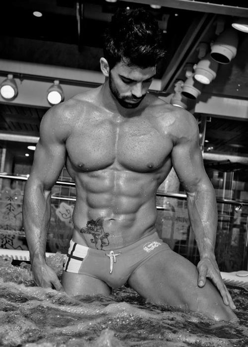 Spanish Swimwear Model