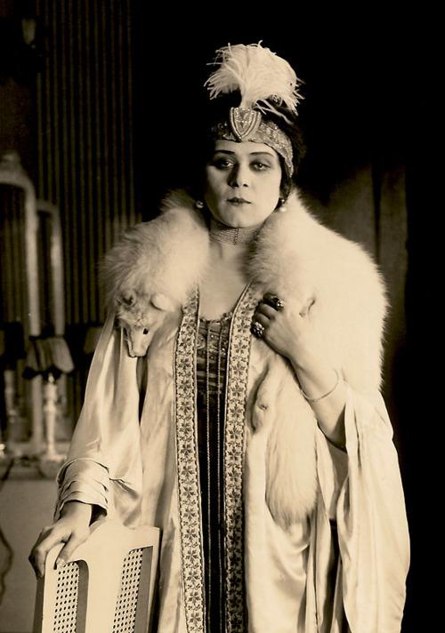 Theda Bara, silent moviestar