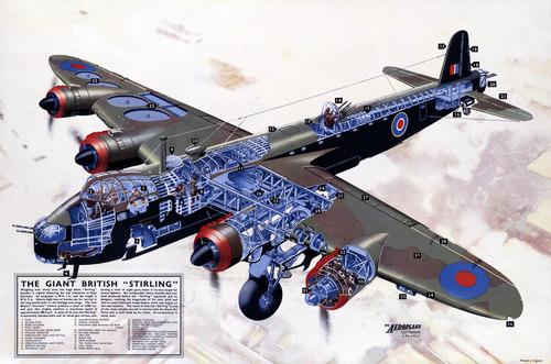 WWII British Bomber