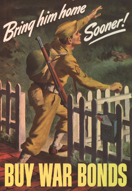 Bring Him Home Sooner, WW II Public Service Announcement, USA