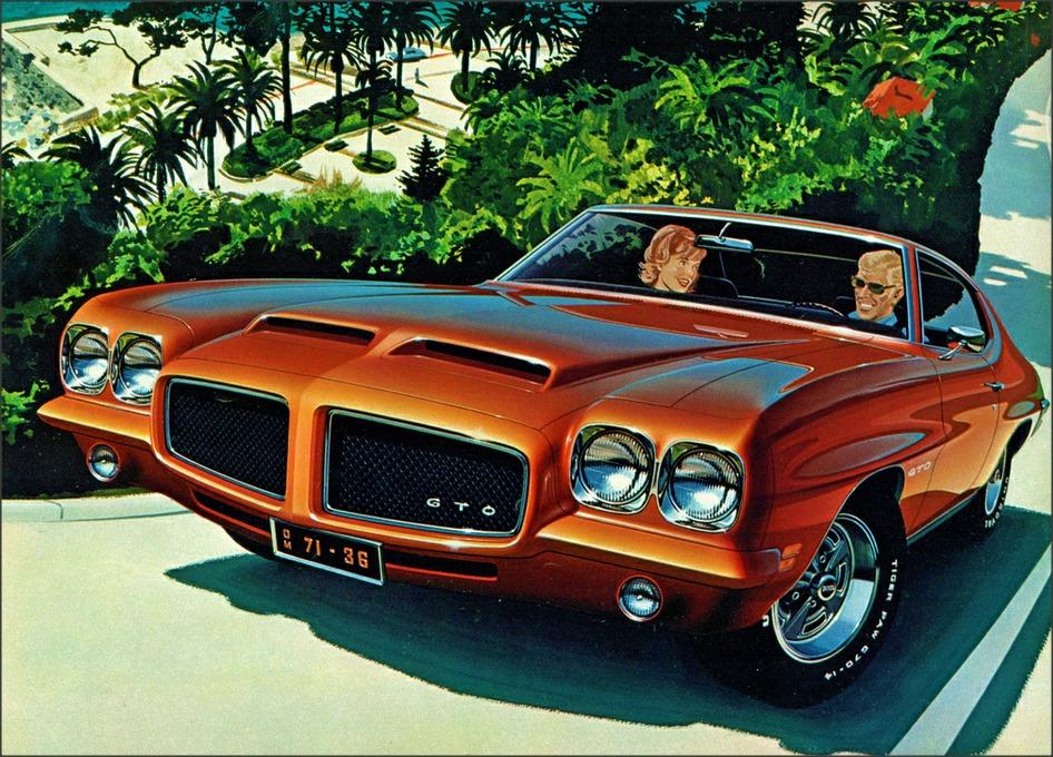 1971 Pontiac GTO HardtopCoupe